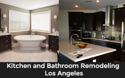 Kitchen and Bathroom Plumbing Services Los Angeles