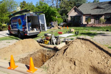 Trenchless Sewer Lateral Replacement and Pipe Bursting